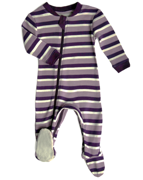 Stripes & Likes - Purple