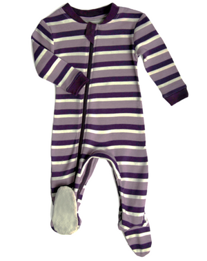 Load image into Gallery viewer, Stripes & Likes - Purple