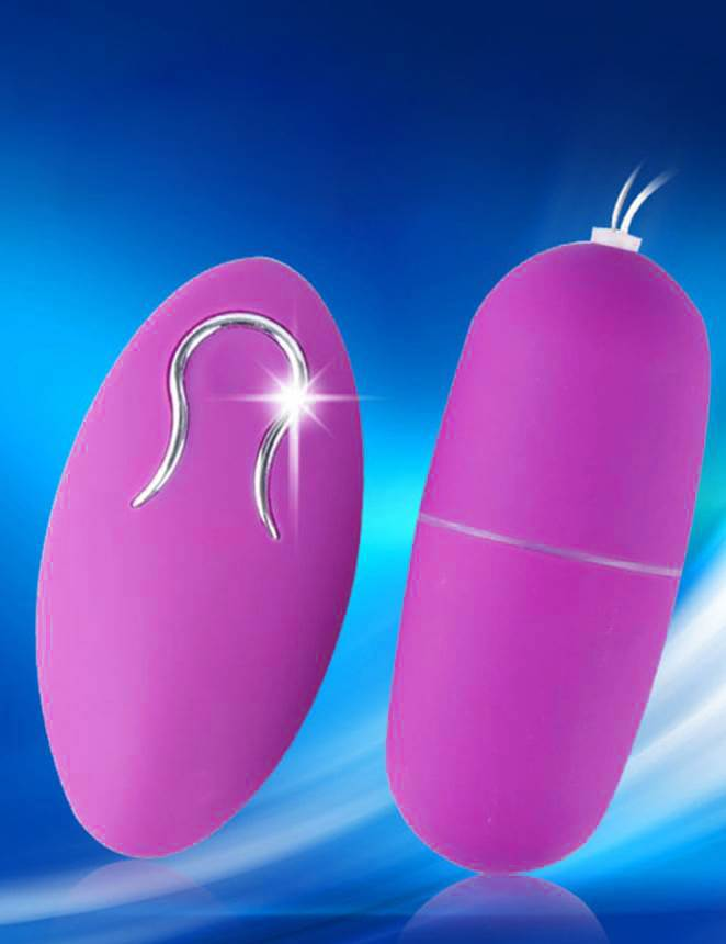 Purple Remote Control Wireless Vibrator Eggs