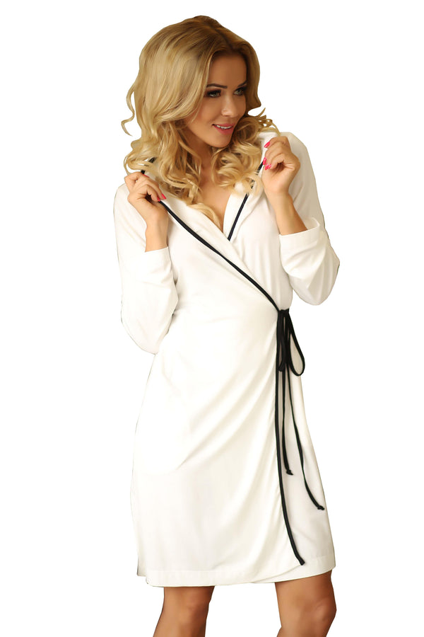 Womens Dressing Gown with Hood