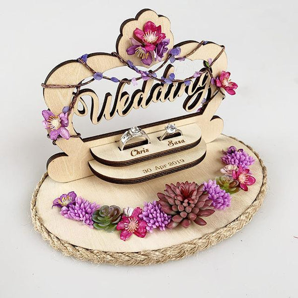 Love Birds Wedding & Engagement Ring Bearer Box