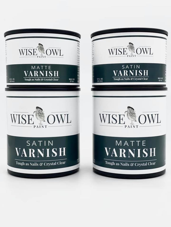 Wise Owl Varnish, Oil and Tonics