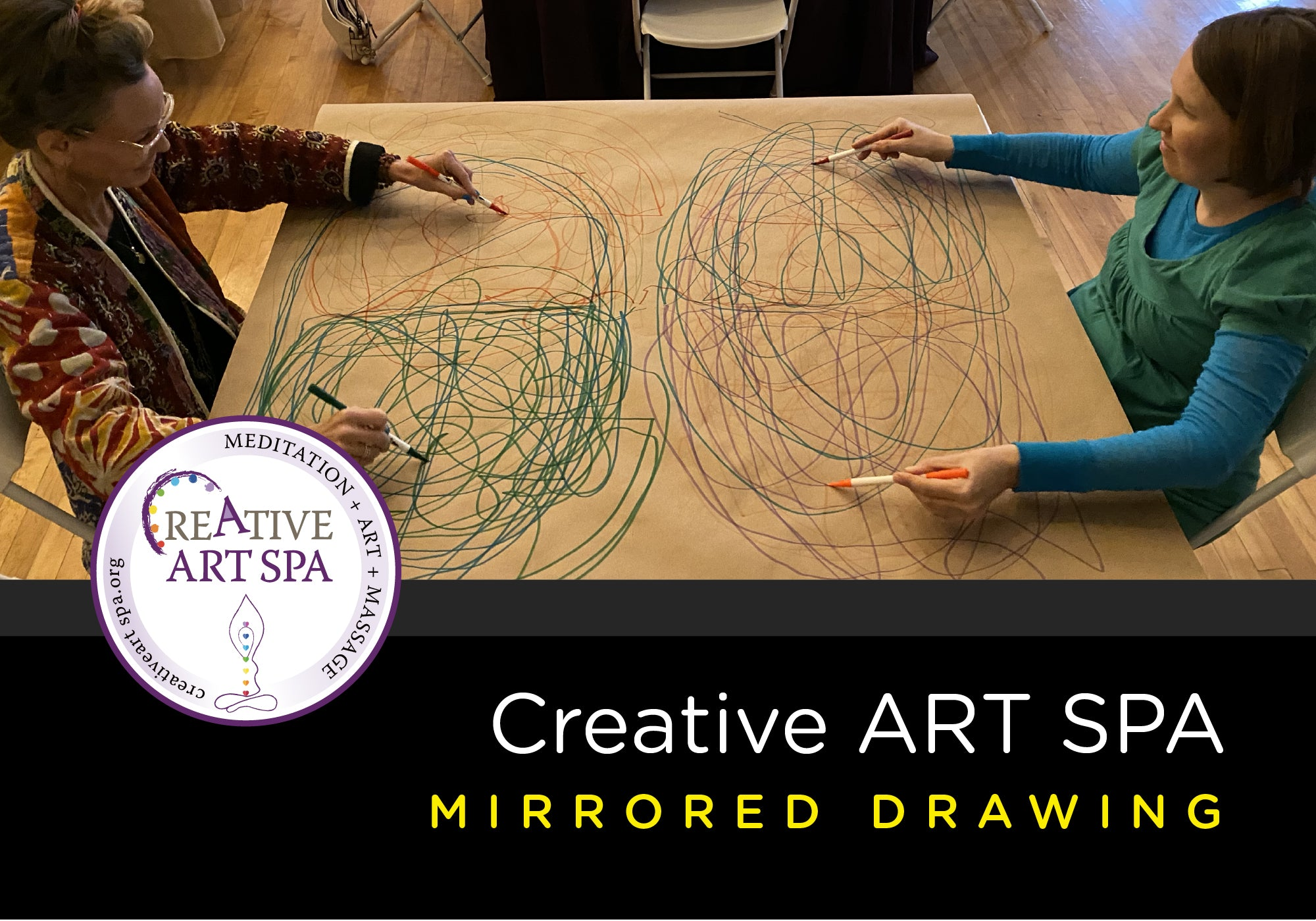 ART SPA: Mirrored Drawing October 14th 6-8 PM