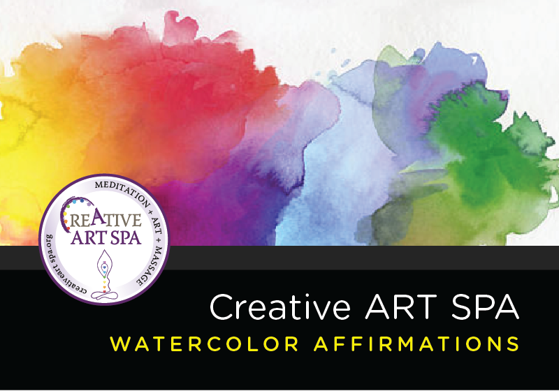 Creative ART SPA | Watercolor Affirmations