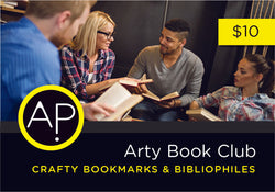 Arty Bookmarks & Bibliophiles