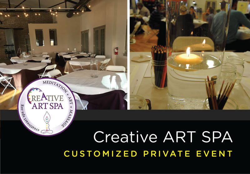 Creative ART SPA – Private Event – Acrylic Painting