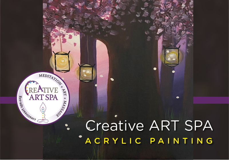 PRIVATE: Creative ART SPA – Acrylic Painting - Custom Painting