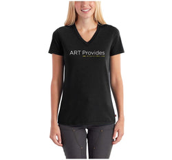 ART Provides V-neck T-shirt