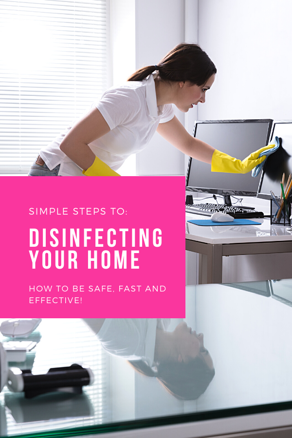 Disinfecting Your Home for Covid 19