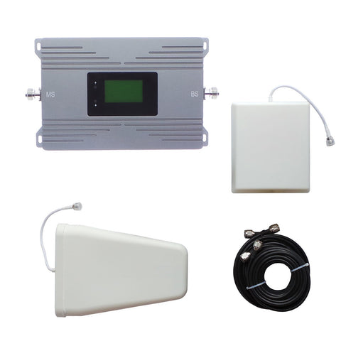 Software-featured Dual Band Signal Booster | 900MHz 2100MHz Mobile Phone Signal Booster | 2G 3G 4G Mobile Repeater