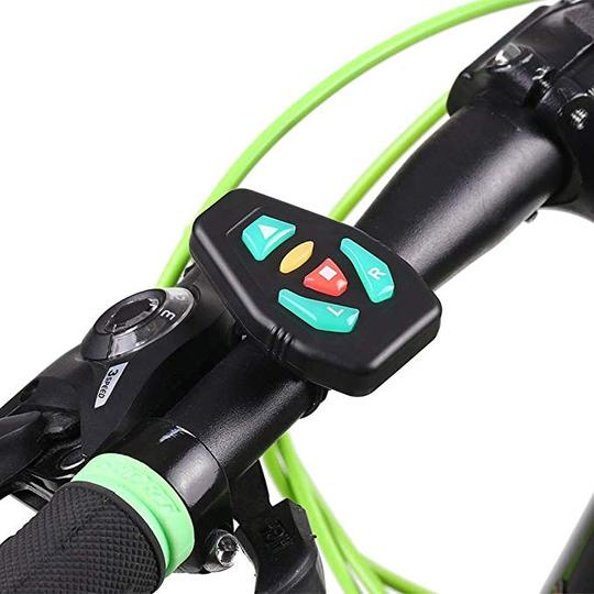 BikeAdrenaline™ cycling vest and LED technology signals