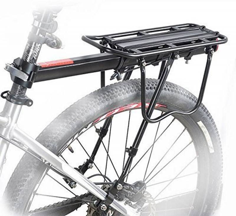 BikeAdrenaline™ Bicycle Touring Carrier with Fender Broad
