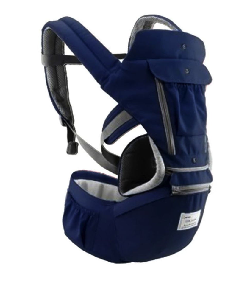 All-In-One Baby Breathable Travel Carrier Baby Care Today Panda 6612 Navy Blue