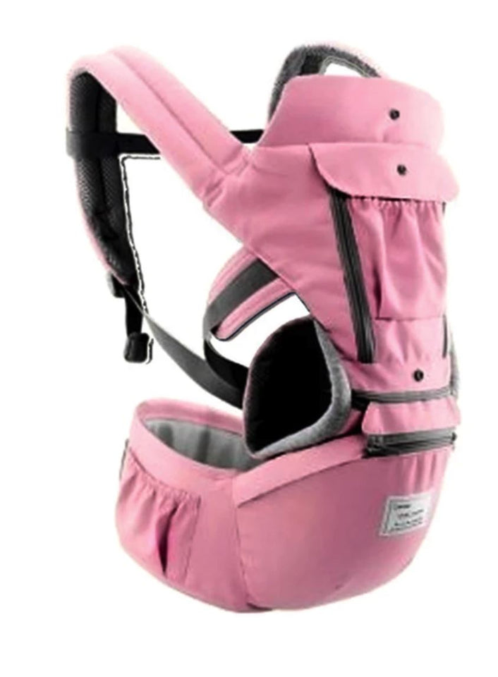 All-In-One Baby Breathable Travel Carrier Baby Care Today Panda 6612 Pink