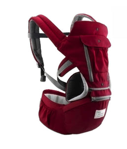 All-In-One Baby Breathable Travel Carrier Baby Care Today Panda 6612 Red