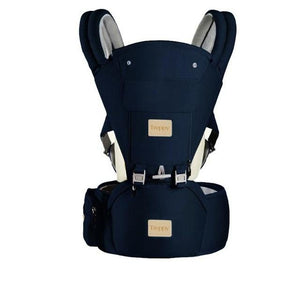 All-In-One Baby Breathable Travel Carrier Baby Care Today Panda Navy Blue