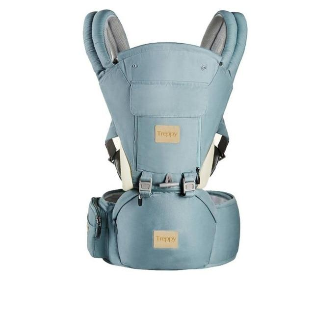All-In-One Baby Breathable Travel Carrier Baby Care Today Panda Sky Blue