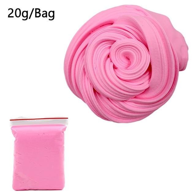 DIY Light Soft Cotton Charms Slime Fruit Kit Cloud Craft Kids Toys for Children Toys Today Panda Pink Slime