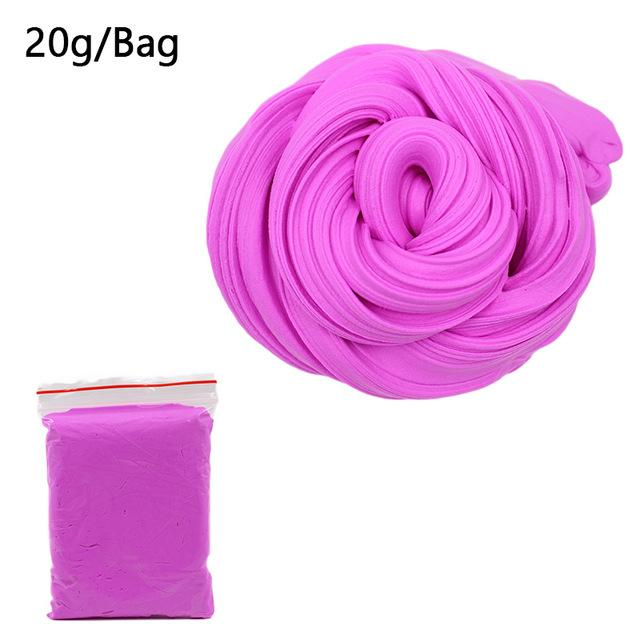 DIY Light Soft Cotton Charms Slime Fruit Kit Cloud Craft Kids Toys for Children Toys Today Panda Pinkish Slime