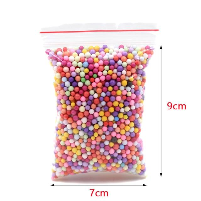 DIY Light Soft Cotton Charms Slime Fruit Kit Cloud Craft Kids Toys for Children Toys Today Panda Slime Balls