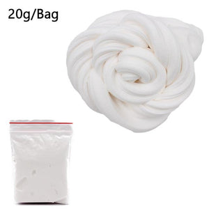 DIY Light Soft Cotton Charms Slime Fruit Kit Cloud Craft Kids Toys for Children Toys Today Panda White Slime