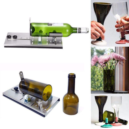 DSHA Adjustable Wine Bottle Cutter And Hardness Bottle Cutters amziing products Today Panda