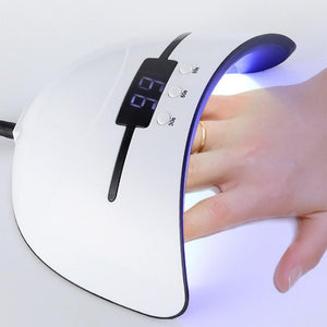 LED Nail Dryer For All Gels Polish Sun Light Lamp Infrared Dryer Nail makeup tools Today Panda