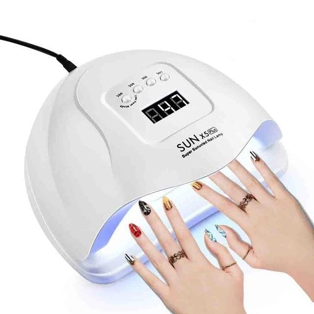 LED Nail Dryer For All Gels Polish Sun Light Lamp Infrared Dryer Nail makeup tools Today Panda Russian Federation 54W-SUNX5