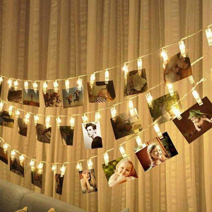 LED Photo Clips - String lights LED String lights Today Panda Warm White 1.5M 10leds
