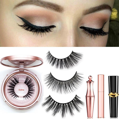 Magnetic Eyeliner Eyelashes Set Makeup Tools Today Panda