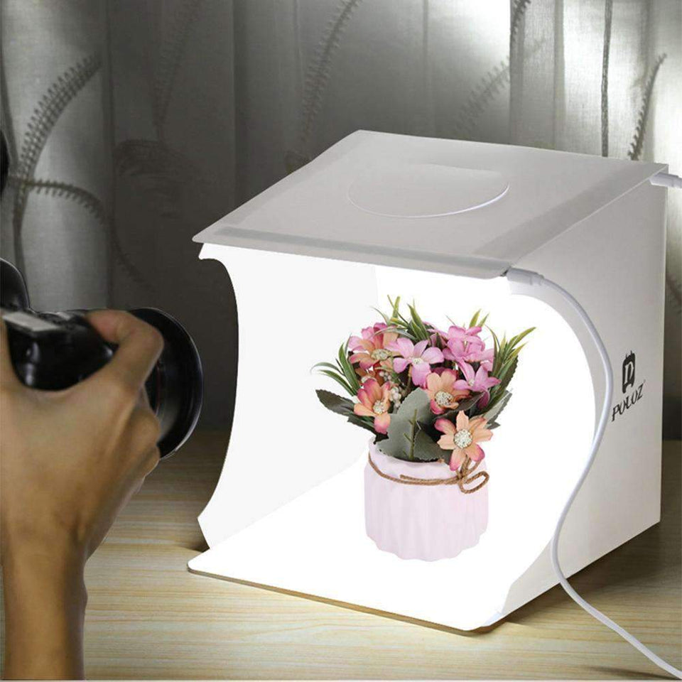 Mini Photo Studio - LED Soft Box Photography Accessories Today Panda