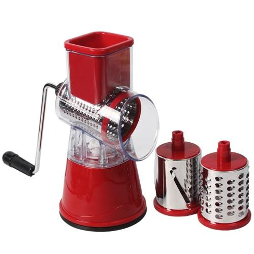 Multifunctional Manual Vegetable Cutter - Kitchen Gadgets kitchen Accessories Today Panda China red