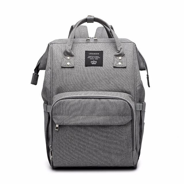 Mummy Maternity Nappy Bag Large Capacity Travel Backpack Nursing Bag for Baby Care! Baby Care Today Panda Grey
