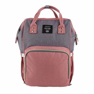 Mummy Maternity Nappy Bag Large Capacity Travel Backpack Nursing Bag for Baby Care! Baby Care Today Panda Pink Grey