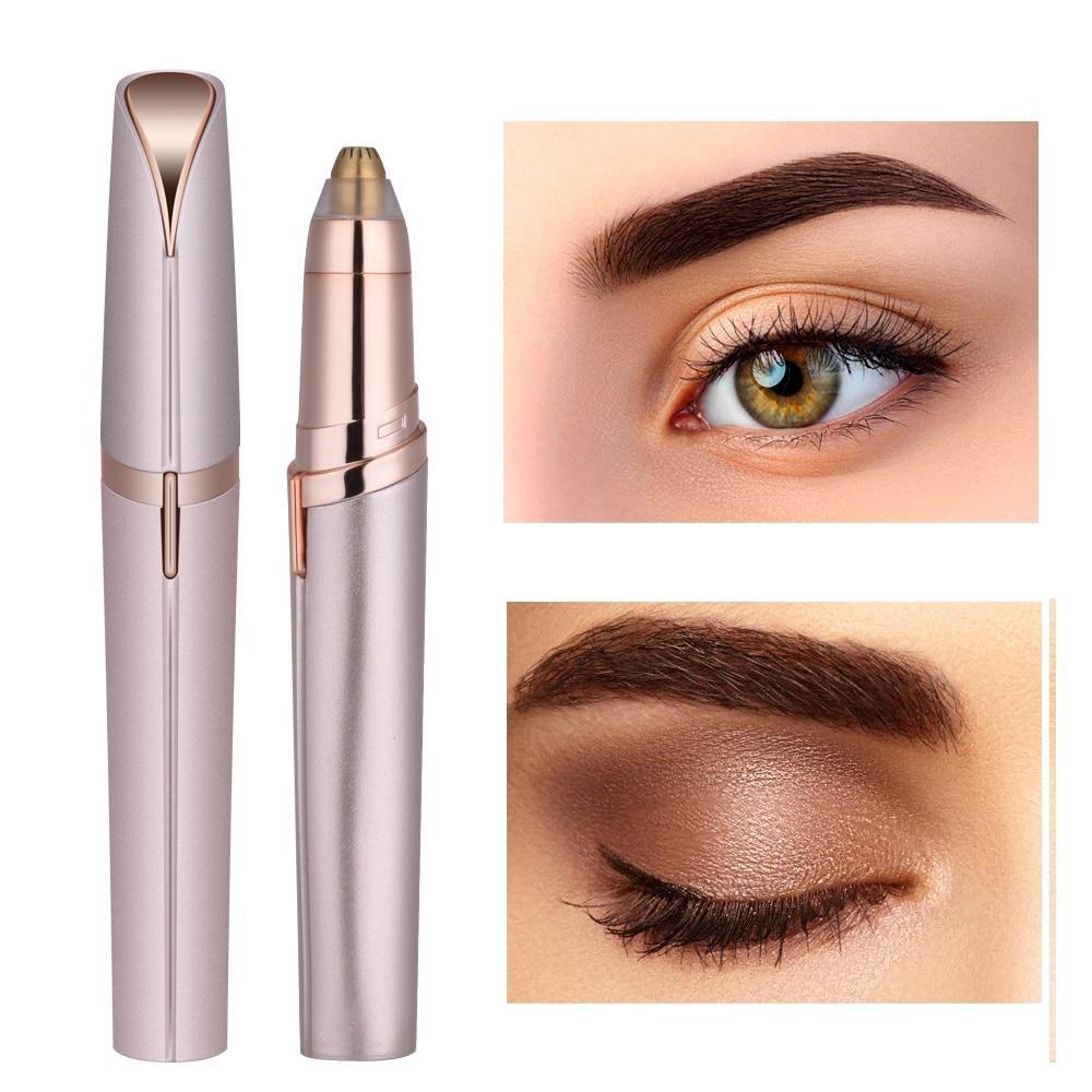 Painless Electric Portable Eyebrow Hair Remover Makeup Tools Today Panda