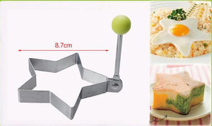 Stainless Steel Fried Egg Mold Pancake Bread Fruit and Vegetable Shape kitchen Accessories Today Panda Star