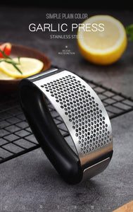 Stainless Steel Manual Garlic Grinder kitchen Accessories Today Panda