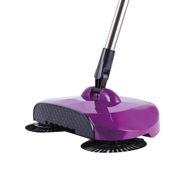 Stainless Steel Sweeping Machine - Magic Hand Push Sweeper Today Panda violet