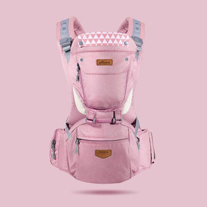 SUNVENO Front Facing Ergonomic Baby Carrier Infant Baby Hipseat Waist Carrier Baby Care Today Panda general pink China
