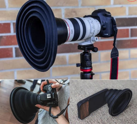Ultimate Lens Hood Fit to Any Lens Camera Accessories Today Panda