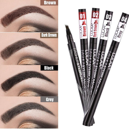 Waterproof Eyebrow Tint Makeup Four Color Eyebrow Pencil Brush Eye Makeup Tools Today Panda