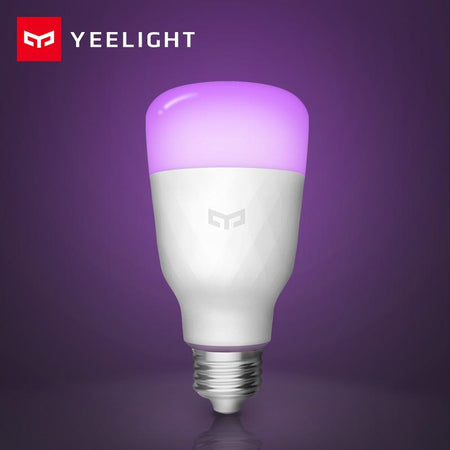 Xiaomi Yeelight Smart LED Bulb Colorful 800 lumens 10W E27 Lemon Smart Bulb Lamp amziing products Today Panda white version