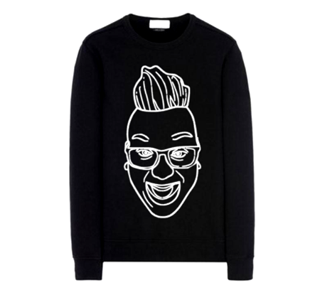 ALAN CHAN THE VOICE THE FACE SWEATER
