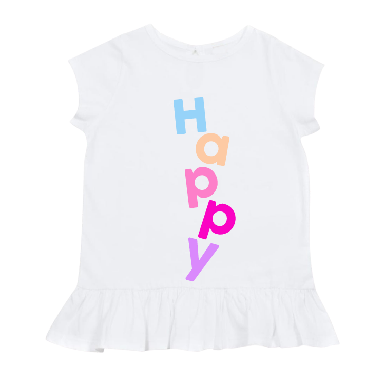 KSPRINKLES HAPPY TSHIRT