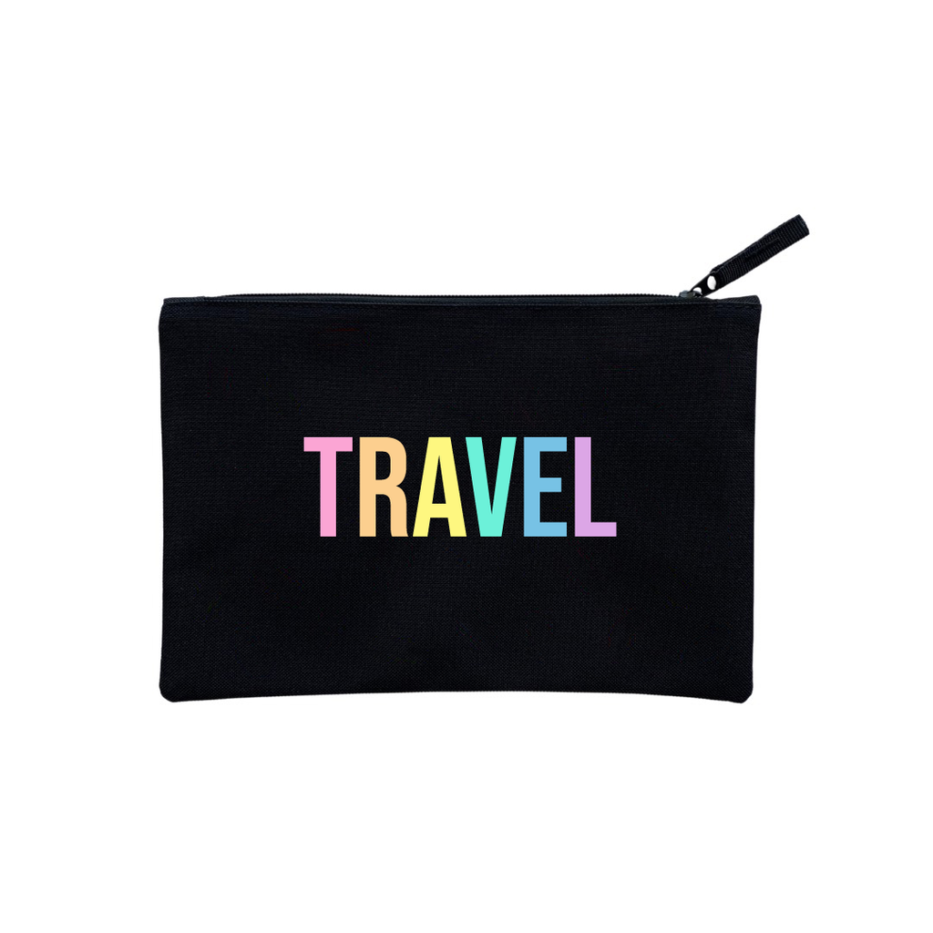 RAINBOW TRAVEL CLUTCH