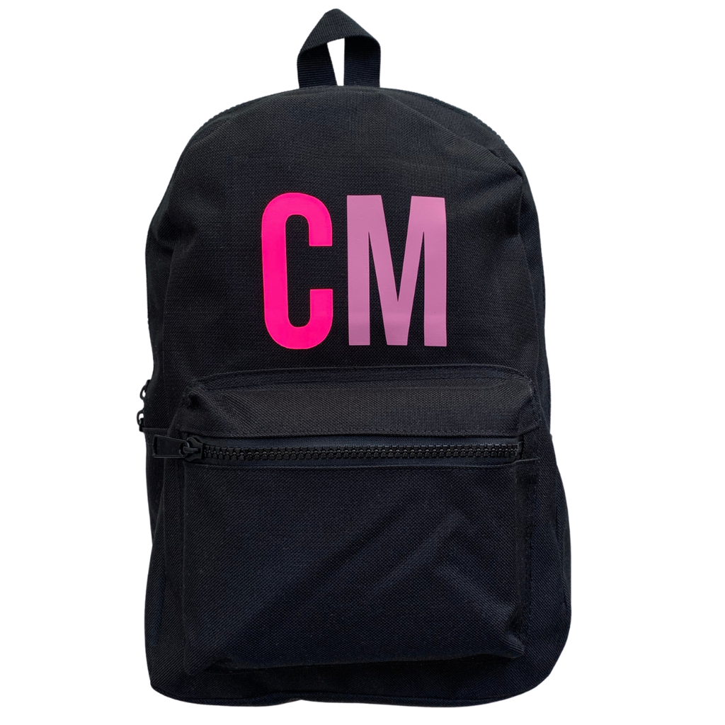 MINI INITIALS BACKPACK