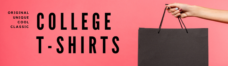 unique college t-shirts, classic college t-shirts