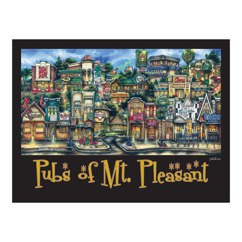 Pubs Of Mt. Pleasant Poster