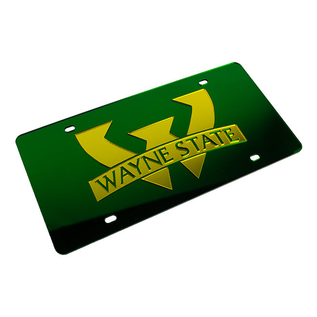 Wayne State Classic License Plate