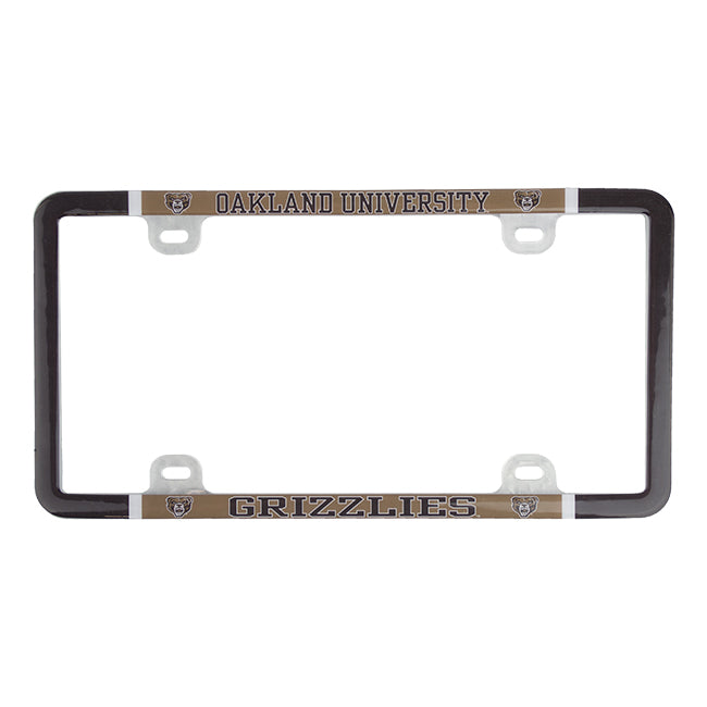 Oakland Varsity License Plate Frame